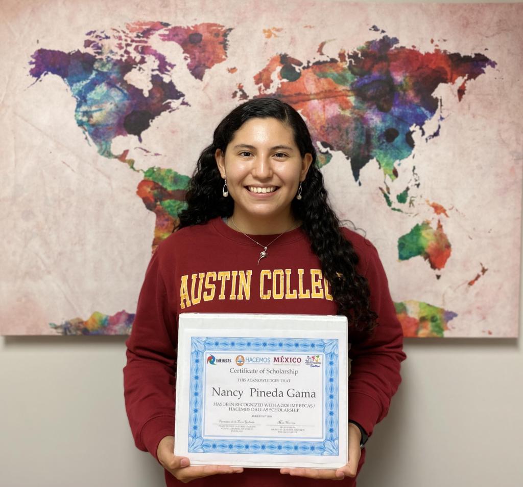 Senior Highlight: Nancy Pineda-Gama, 2020 IME BECAS/HACEMOS Dallas Scholarship Recipient