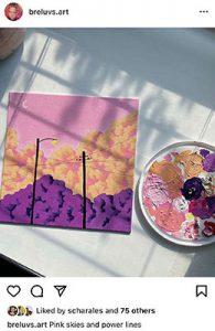 Pink Skies by Breana Wooten